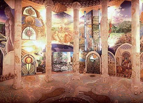 Temples of Damanhur - Hall of Mirrors
