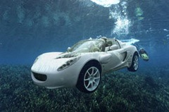 Rinspeed Squba – Concept Electric Submersible Sports Car