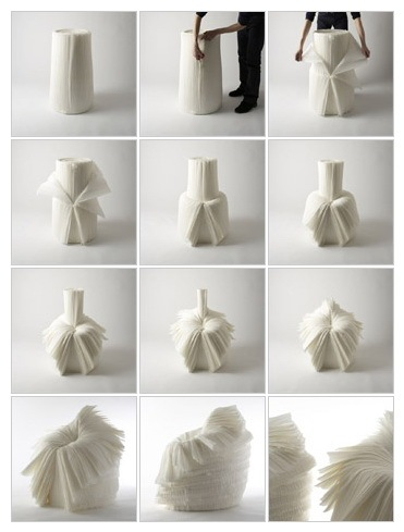 The Cabbage Chair by Nendo