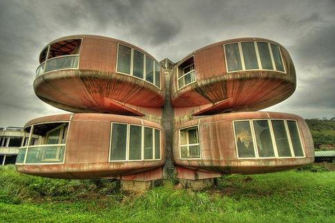 UFO House in Taiwan