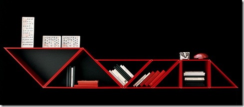 Tangram Bookshelves – Cool Contemporary Furniture