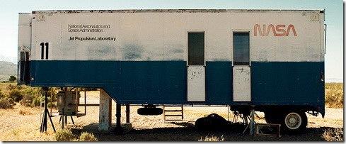 NASA - Abandoned Test Laboratory