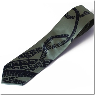 Tentacle Ties Are Awesomely Cool, Ultimate in Geek Fashion