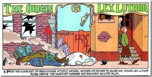 Lex Luthor Origins