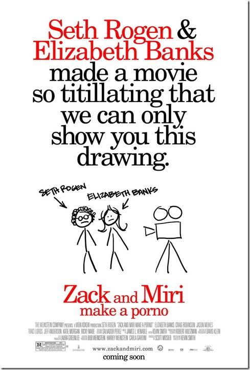 Zack and Miri – Latest Promo Poster