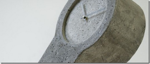 Concrete Clocks by Forsberg Form