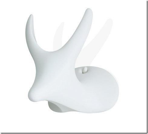 My Deer White - Stool