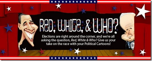 Red, White, and Who? – Contest on MyToons.com