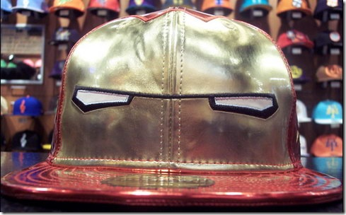 Unbelievably Ugly Iron Man Helmet Hat