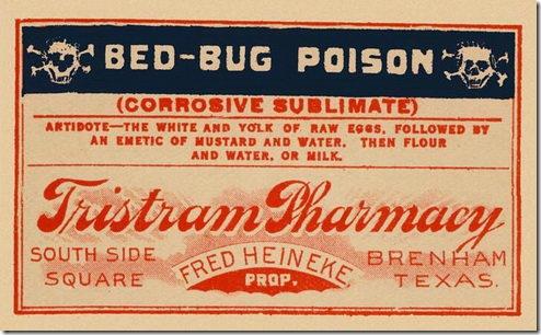 Free Vintage Poison Labels