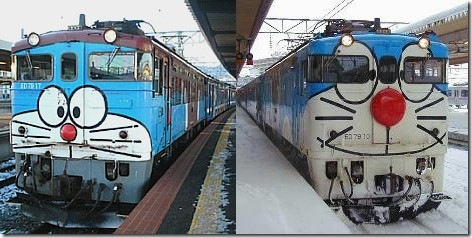 Japanese Trains Decorated With Images of Anime and Manga Characters