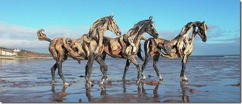 The Driftwood Horse Sculptures of Heather Jansch