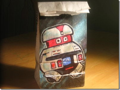 Artist Posts Pictures of Drawings on Lunch Bags Everyday
