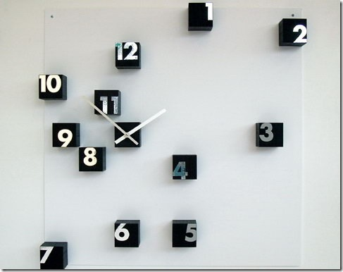 Time Wengé Clock Looks Unique But Is Expensive