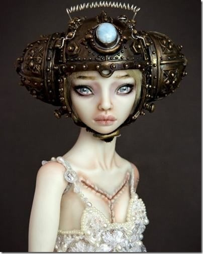 Bride of Frankenstein Porcelain Doll
