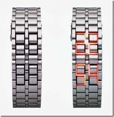 Stunning LED Watch By Hiranao Tsuboi