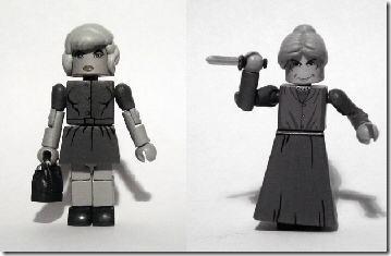 Custom Toys Based On Hitchcock's Psycho