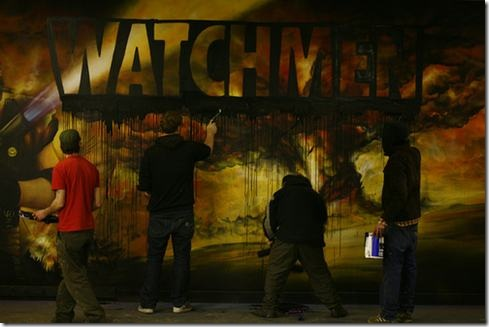 Watchmen-graffiti-Time-Lapse-Video