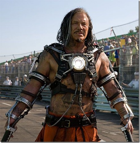 First Look at Mickey Rourke as Whiplash in Iron Man 2