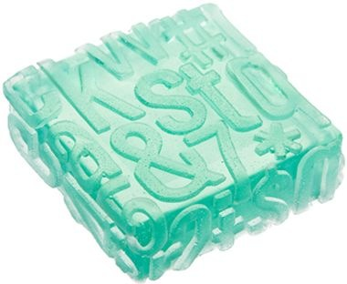 Typography Soap Reminds Us of a Certain Film