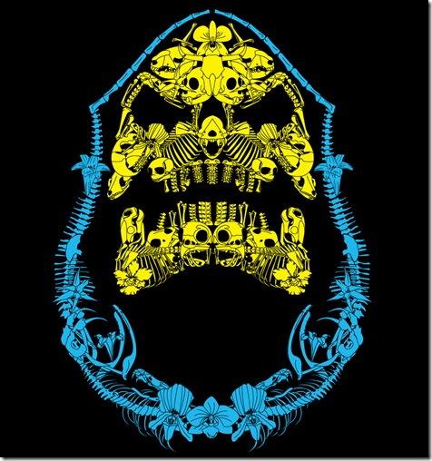Badical Skeletor T-shirt