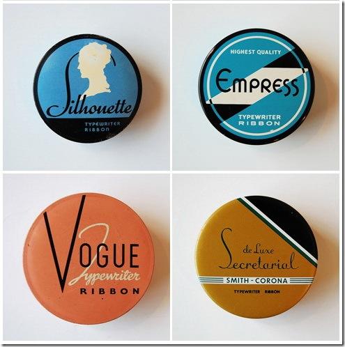 Vintage-Typewriter-Ribbons-Tins