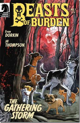 Beasts of Burden – 3 Comic Book Teasers For Free