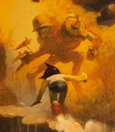 Astro Boy Art By Ashley Wood