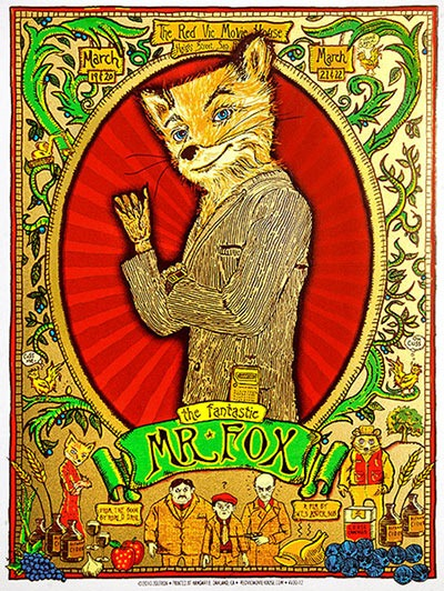 The Fantastic Mr. Fox Collectible Print