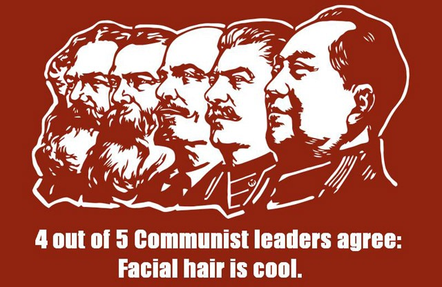 Communist Leaders Prefer Facial Hair