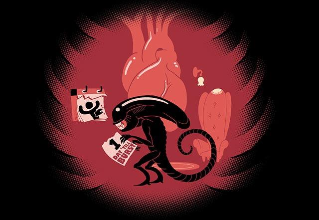 Alien_Xenomorph_Tshirt_print