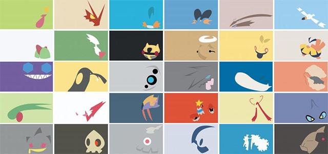 Minimalist Pokemon Wallpapers