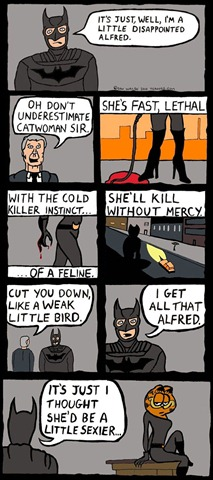 Batman is a Little Disappointed About Catwoman