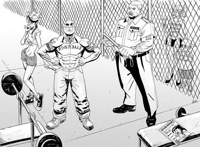 Archie & Gang's World Reimagined as a Prison Drama