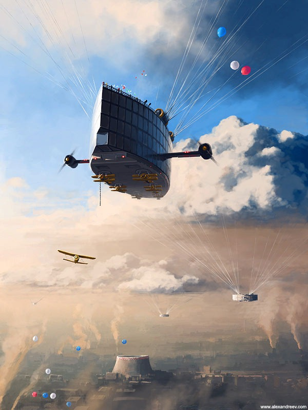 The Fantasy Digital Art of Alex Andreyev