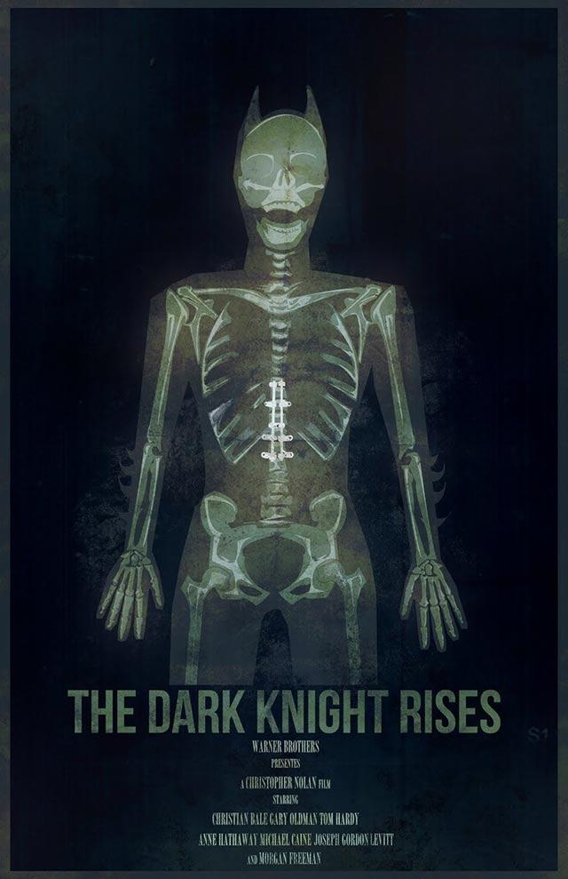 Breaking the Bat – Dark Knight Concept Poster