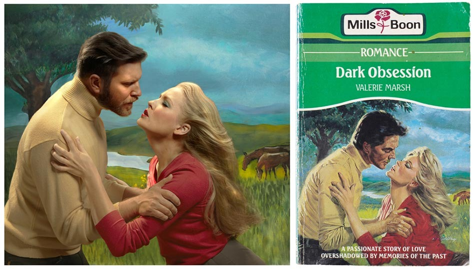 Vintage Mills and Boon Book Covers Brought to Life