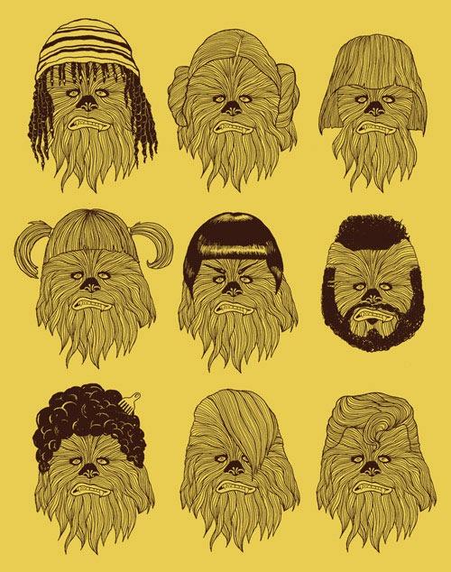 Chewbacca in Hair Wars
