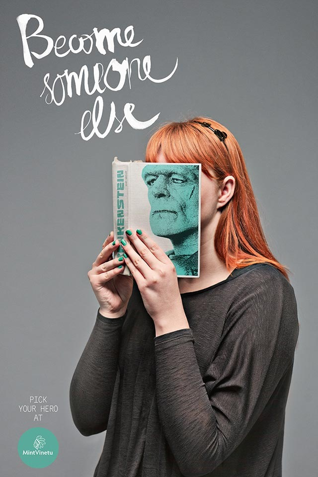 Become Someone Else – Interesting Print Ads
