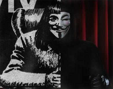 V for Vendetta Televised Speech – Original Comic Strip Scans