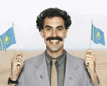 Borat – the only reason for tourism boom in Kazakhstan