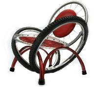 Designer Furniture with Bicycle parts