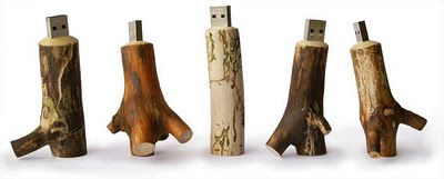USB Memory Sticks – Now made with Wood