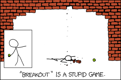 Funny xkcd Comic – Brick Archway