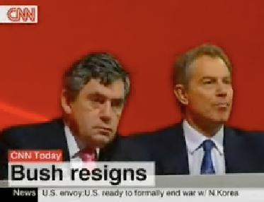 Bush Resigns?