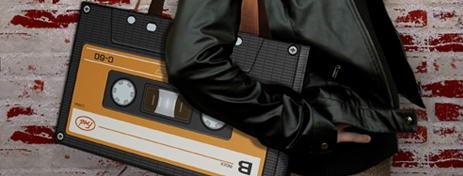 Cassette Tote Bag