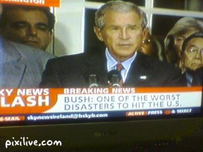 Bush confesses on Sky News