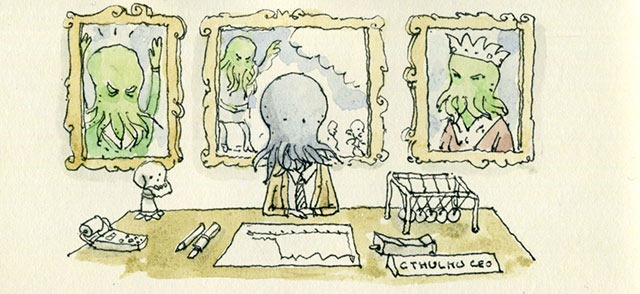 Your Glory Days are Over, Mr.Cthulhu