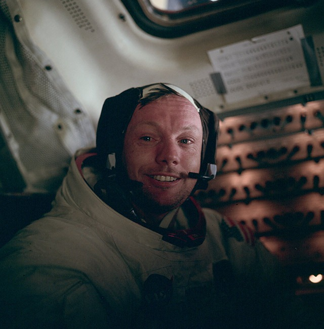 Neil Armstrong, After His First Moon Walk