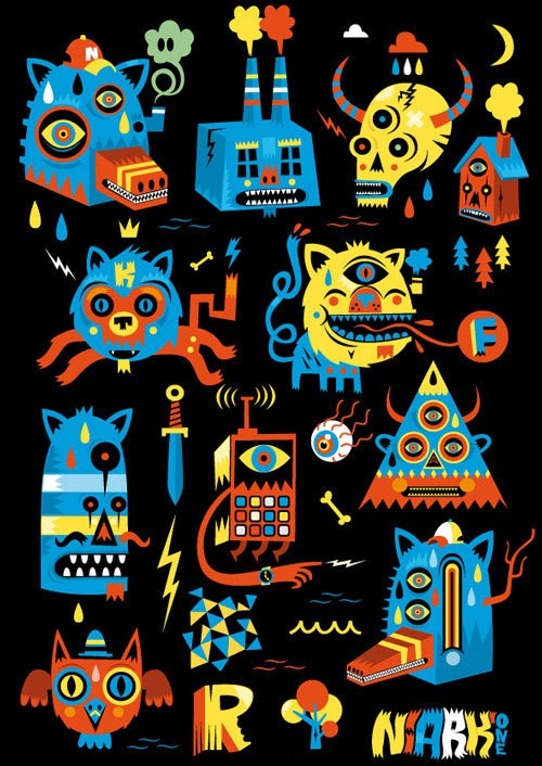 Vector Illustrations by Sebastien FERAUT